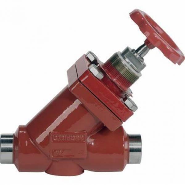 Danfoss Shut-off valves 148B4616 STC 100 A ANG  SHUT-OFF VALVE CAP #1 image
